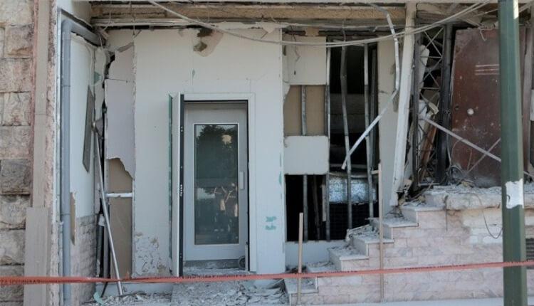 Έκρηξη γραφεία Πειραιάς