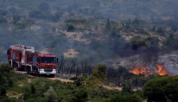 πυρκαγιά Μάνη Κύθνο