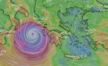 θυελλώδεις άνεμοι καταιγίδα Ζάκυνθο