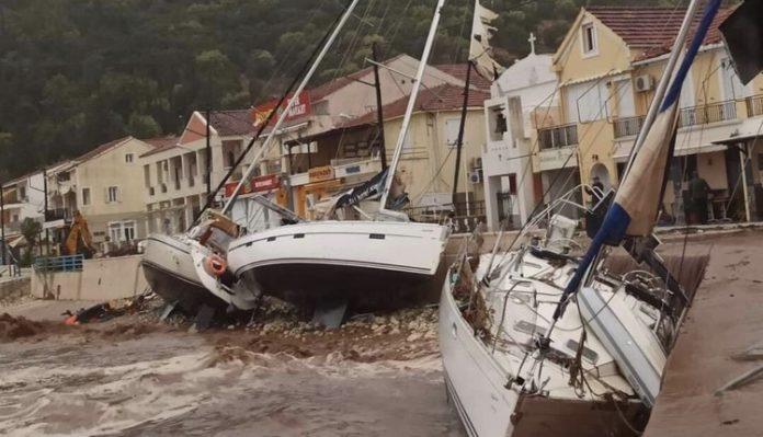 ιανός τους ισχυρότερους μεσογειακούς κυκλώνες