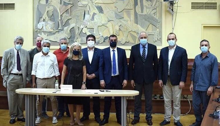 Συνεδρίαση νέο Δ.Σ. Φορέα Διαχείρισης Ελληνικού