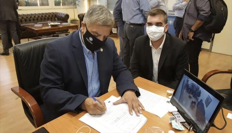 Γιάννης Κωνσταντάτος Γιώργος Πατούλης περιβαλλοντική αναβάθμιση κτηρίων