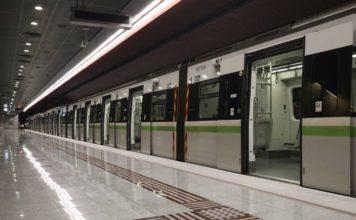 μετρό ηλεκτρικό τραμ στάση εργασίας