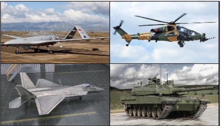 Τουρκία αμυντική βιομηχανία