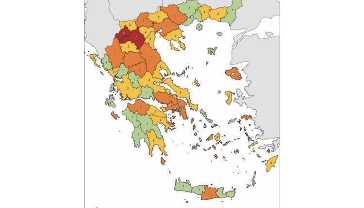 χάρτης υγειονομικής ασφάλειας αλλαγές από σήμερα