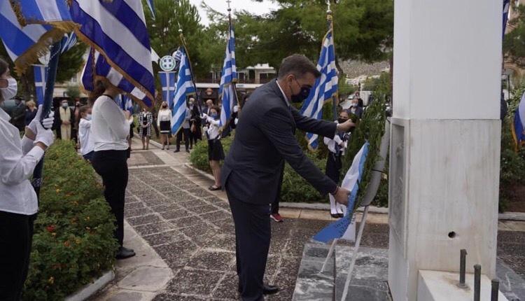 Γιάννης Κωνσταντάτος τελετή 1940 Ελληνικού Αργυρούπολης