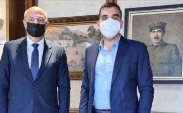 Δήμαρχος Ελληνικού - Αργυρούπολης Γιάννης Κωνσταντάτος συνάντηση εργασίας Υπουργό Δικαιοσύνης Τσιάρα