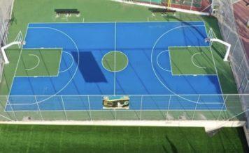 Γλυφάδα νέο γήπεδο μπάσκετ