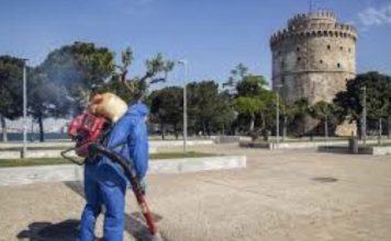 lockdown κορωνοϊός Θεσσαλονίκη στο τραπέζι