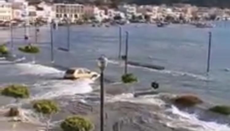 Βίντεο τσουνάμι Σάμο