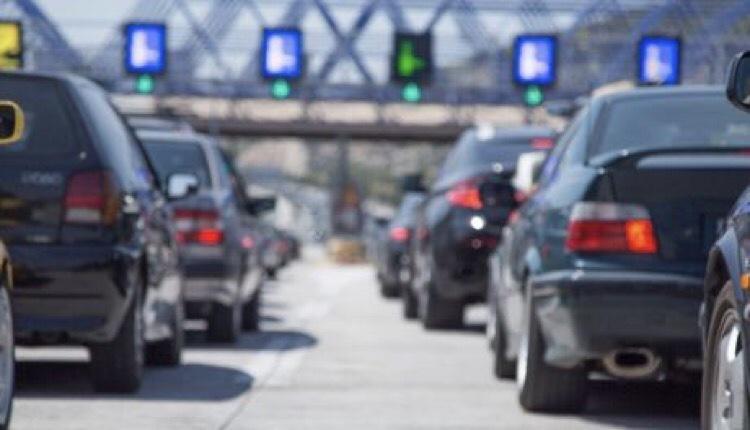 Lockdown μεγάλη έξοδος αυτοκινήτων ουρές
