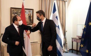 Αθήνα πρόεδρος Αιγύπτου