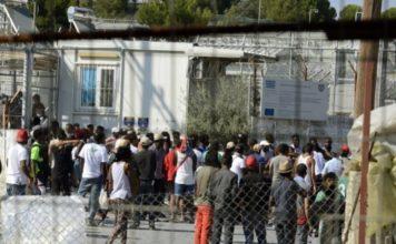 φωτιά καταυλισμό προσφύγων Σάμο