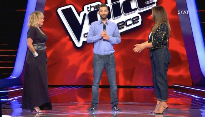 The voice video φωνή Ζουγανέλη Παπαρίζου