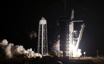Space X NASA εκτόξευση 4 αστροναυτών