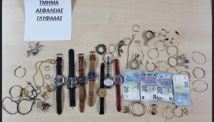 συνελήφθη 29χρονος κλοπές Γλυφάδα Αργυρούπολη