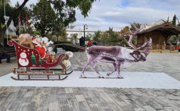 Ο Άγιος Βασίλης προσγειώθηκε Ελληνικό Αργυρούπολη