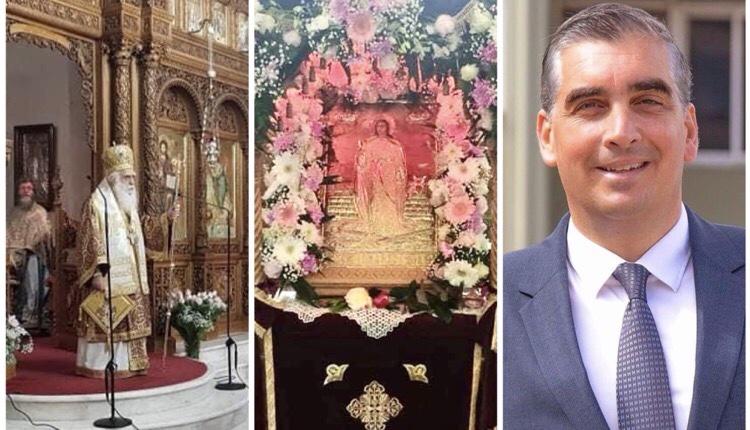 Γιάννης Κωνσταντάτος παρών Αγίας Βαρβάρας