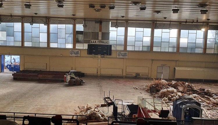 Δημοτικό Αθλητικό Κέντρο Γλυφάδας ανακαινίζεται