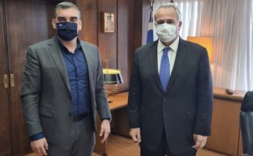 Ελληνικό Αργυρούπολη συνάντηση Κωνσταντάτου Βορίδη