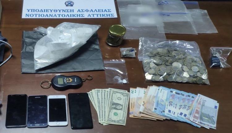Γλυφάδα πέταξε τσάντα κιλό κοκαΐνης