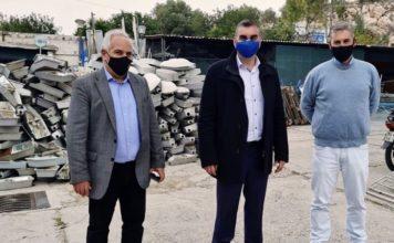 Επίσκεψη Δημάρχου Ελληνικού Αργυρούπολης