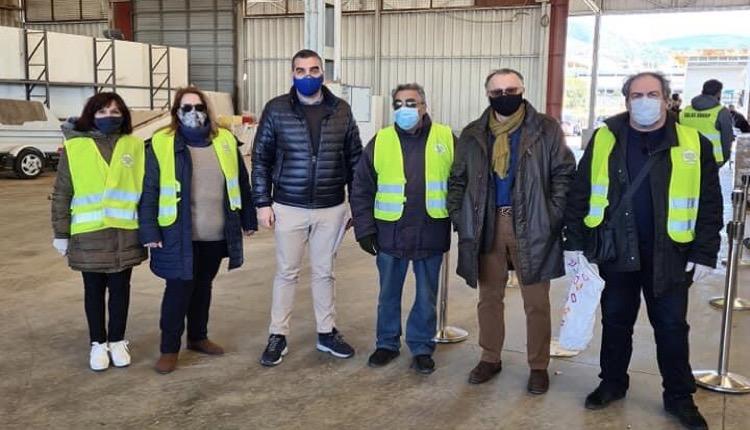 Δήμος Ελληνικού - Αργυρούπολης διανομή τροφίμων