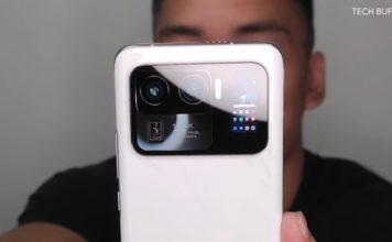 Xiaomi Mi 11 Ultra pics video