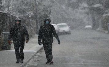 Σφοδρές χιονοπτώσεις