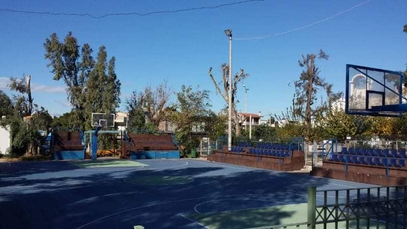 Ελληνικό Αργυρούπολη έργα συντήρησης αθλητικών εγκαταστάσεων
