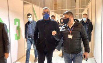 Γιάννης Κωνσταντάτος έτοιμο εμβολιαστικό κέντρο Ελληνικό