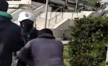 Σε διαθεσιμότητα αστυνομικός ξυλοδαρμό πολίτη Νέα Σμύρνη